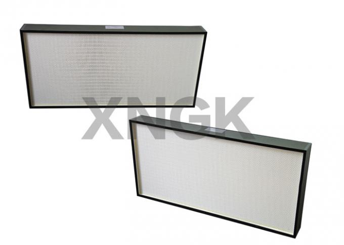 High Capacity H13 HEPA Filter Ceiling Modules , 600Pa Clean Room Fan Filter Units