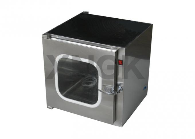 Stainless Steel Dynamic Pass Box Mechanical Interlock Customized Airflow