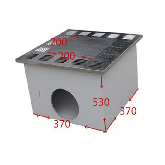 Custom Size Clean Room HEPA Filter Module With Smooth Diffuser Plate H14 Efficiency