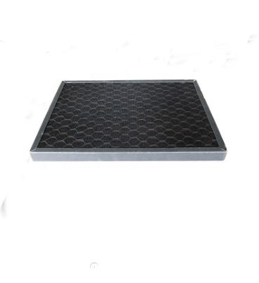 HVAC System Air Purifier Filter Plastic Honeycomb Activated Carbon Filter Sheet