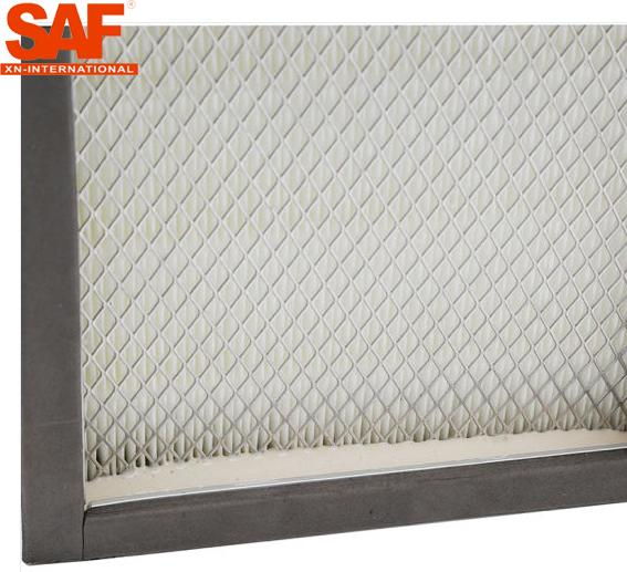 H13 H14 Grade Hepa Filter Box Without Separator For Clean Room / Air Shower