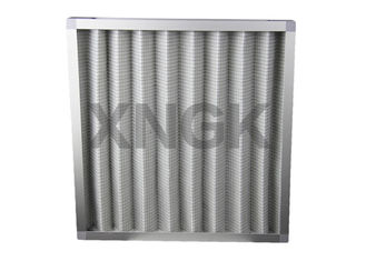 China Industrial Pleated Pre Air Filter HVAC Application First Stage Paper Frame supplier