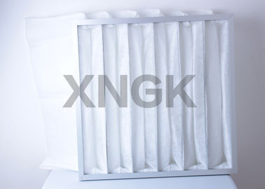 China Washable G4 Air Handling Filters , Merv 14 Filter Pressure Drop Ultrasonic Seal supplier