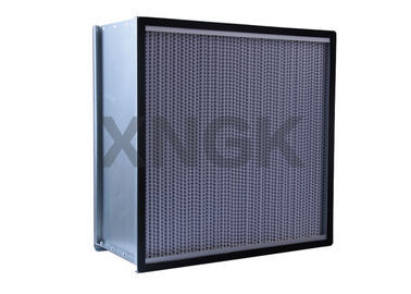 China Deep Folded Hepa Filter H13 With Aluminum Foil Separator Commercial & Industrial Application supplier