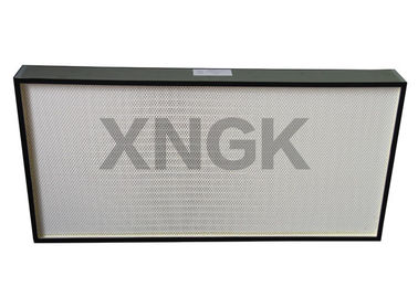 0.3 Micron Cleanroom HEPA Filter For HVAC System Anodized Aluminum Frame