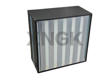 China 3V / 4V Design Water Resistant Electronic Air Filter , H14 HEPA Filter 99.99% MPPS supplier