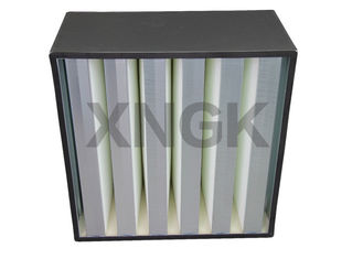 Cleanroom Terminal Filtration High Volume HEPA Filter H13 ABS Plastic Frame