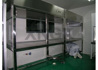 China Fine Machinery Benchtop Laminar Flow Hoods Pressure Gauge SUS Frame supplier