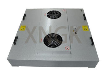 HV Glass Fiber Media Fan Powered Hepa Filter , EBM Motor Fan Coil Unit Filters