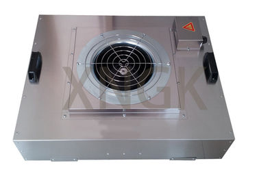 China HVAC System Ceiling Fan Air Filter Unit With Glass Fiber HEPA Filter Stainless Steel Frame supplier