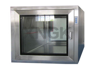 China Stainless Steel Dynamic Pass Box Mechanical Interlock Customized Airflow supplier