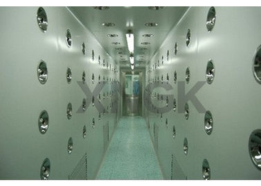 China 0.3 Micron HEPA Filter Air Showers And Pass Thrus , Multiply Unit Design Air Shower Room supplier