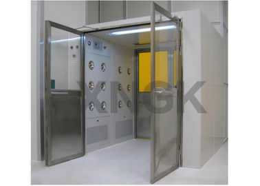 Pharmaceutical Industries Clean Room Air Showers With High Efficiency Hepa Filter 99.99%