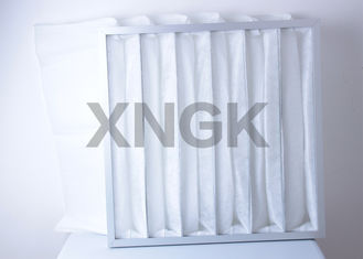 China G4 Efficiency  Multi Pocket Air Filter For HVAC System Arrestance 90 - 95% supplier