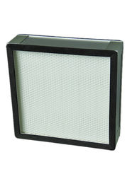 Galvanized Frame Glass Fiber High Efficiency Particulate Filter / Iso Hvac Hepa Filter System