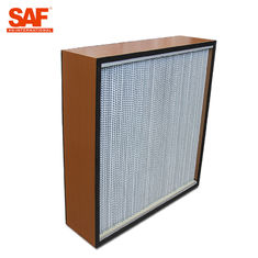 Deap Pleated Cleanroom Hepa Filter With Paper Or Aluminum Foil Separater