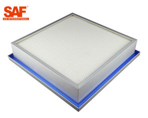 Liquid Tank Silicon Sealed Cleanroom HEPA Filter Hospital And Food Industry Use
