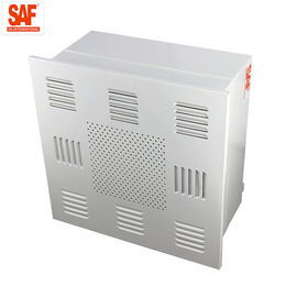 China Custom Size Clean Room HEPA Filter Module With Smooth Diffuser Plate H14 Efficiency supplier