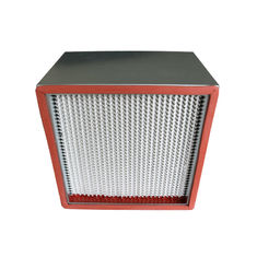 China Food / Beverage High Temperature Electronic Air Filter Silicon Free Construction supplier