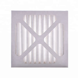 China Non Woven Pleated Air Filters Handling Unit Pre Panel Filter Synthetic Fiber supplier