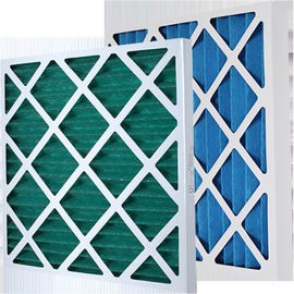 China Customized Paper Frame Pre Air Filter Disposable Pleat Primary Furnace Air Filter Type supplier