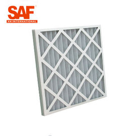China Ventilation System Pre Air Filter Paper Cardboard Frame G Series Folding Panel supplier