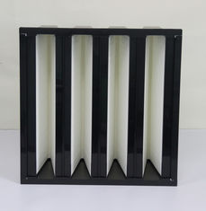 China HEPA V Bank Filter Air Filtration Plastic Frame Polyurethane AB Adhesive Sealant supplier
