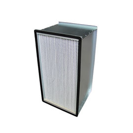 China High Efficiency Deep Pleated HEPA Air Filters H14 H13 Air Conditioning 80%RH Humidity supplier