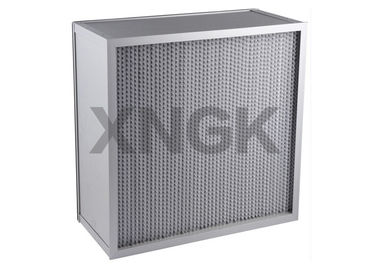 High Efficiency Particulate Air Hepa Filter Low Resistant Customized Size