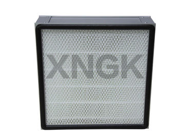 Mini Pleated Panel Cleanroom HEPA Filter H12 Laminar Air Flow Clean Room Terminal Filtration