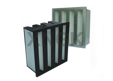 China High Air Flow Rate Box High Volume HEPA Filter For HVAC System 610 * 610 * 292mm factory