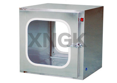 Coated Roll Steel Frame Pass Through Hatch , Static Pass Box Robust Design