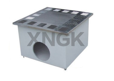 China Stainless Steel H14 HEPA Filter Module Customized Size 500 - 4000CMH Air Flow Rate factory