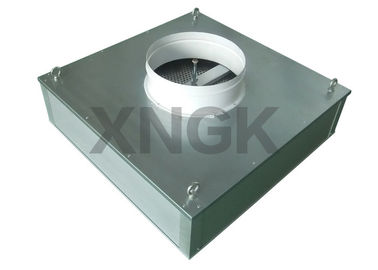 China 10 / 12 / 14 Inch Hepa Filter Ceiling Module , Anodized Aluminum Fan Air Filter factory