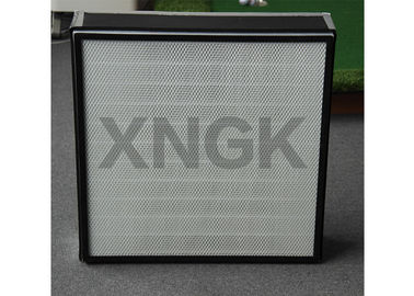 China Class 1000 Clean Rooom F2 HEPA Filter Module Painted Steel Frame factory