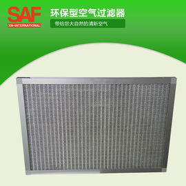 China Durable Air Purifier Washable Hepa Filter With Corrugated Aluminum Mesh Media factory