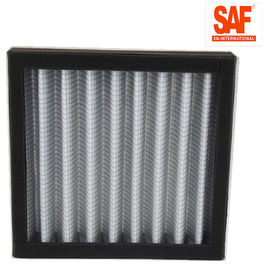 China Card Case Pleated Panel Filters , Metal Net Air Pre Filter Customized Size factory