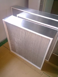 Box Type High Temperature Air Filter , Oven Fan Filter For Food Processing Plants
