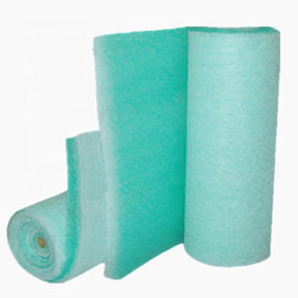 Electric Heating Fiberglass Air Filters , Spray Booth Filter Paint Stop / Arrestor