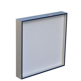 Mini pleated ULPA filter for pharmaceutical cleanroom