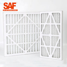 HVAC System Pre Air Filter Cardboard Frame Primary Efficiency For Industrial Air Purifier