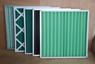 China G1 Coarse Pre Air Filter Pleated Panel 5 Micron G4 For Air Conditioning System factory