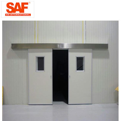 Automatic Sliding Door Cleanroom Air Shower System Tunnel With Custom Width
