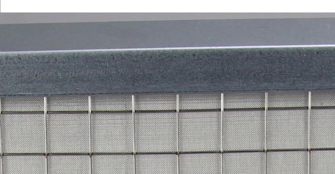 Multiple Layer Stainless Steel Air Filter , G4 High Temp Washable Metal Air Filters